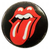 The Rolling Stones - 'Tongue Logo' Button Badge